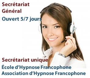 Secrétariat de l'Hypnose Francophone