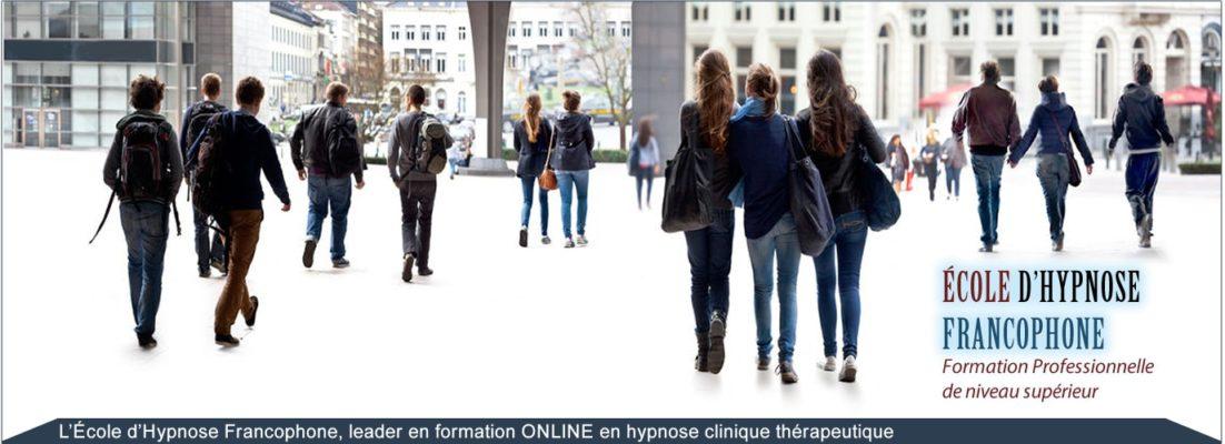 l'EHF organisme de formation en hypnose en ligne, apprendre l'hypnothérapie à distance pour devenir hypnothérapeute