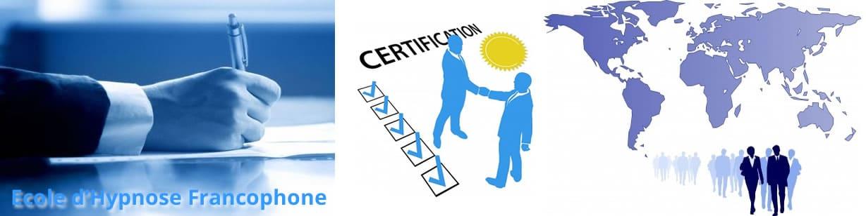 hypnose formation certifiante homologation