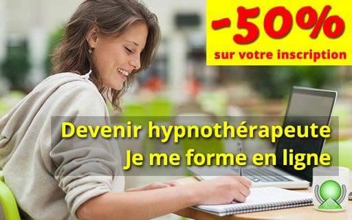 Formations en hypnose à distance en ligne par internet pour devenir hypnothérapeute